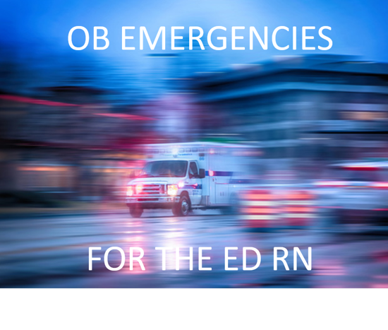 Picture of ED RN- OB emergencies